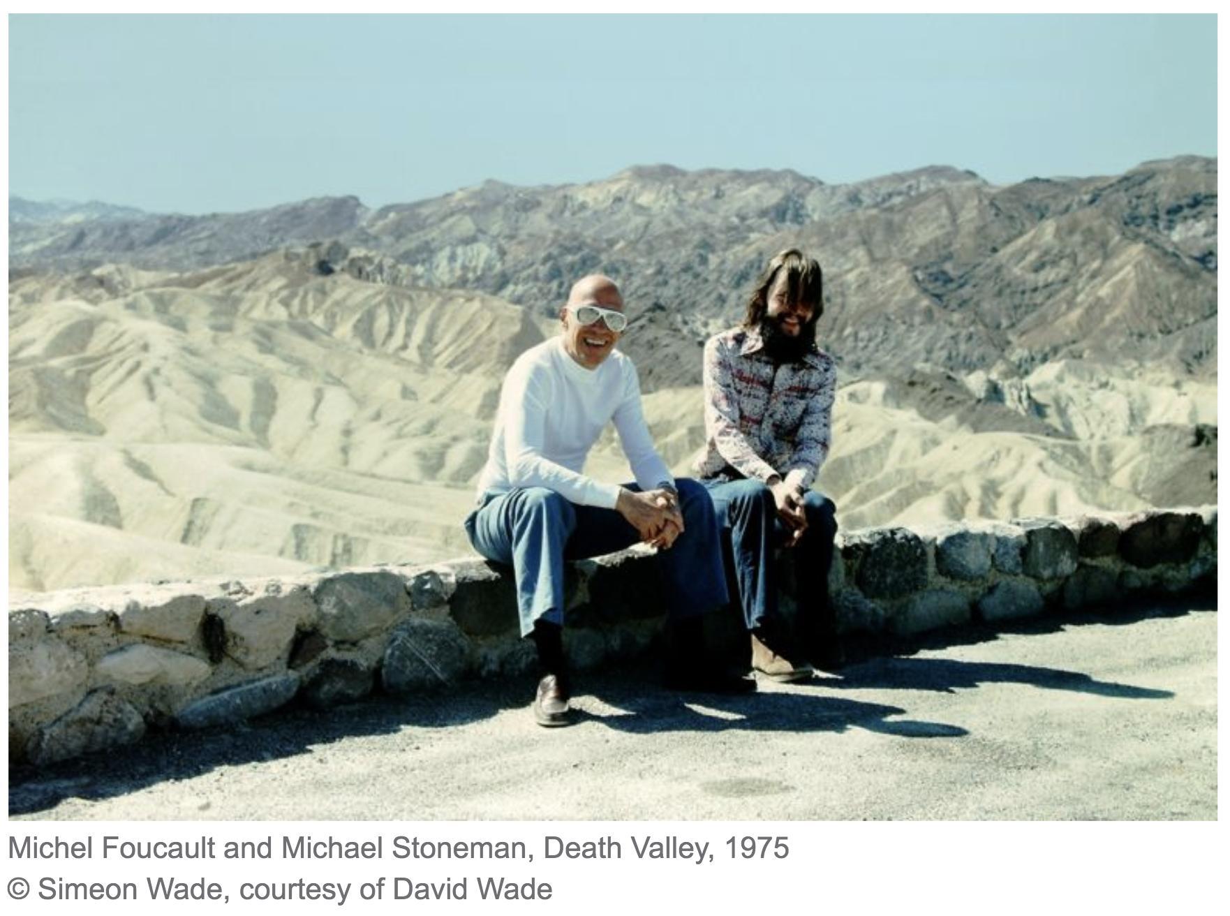 Michel Foucault in death valley…