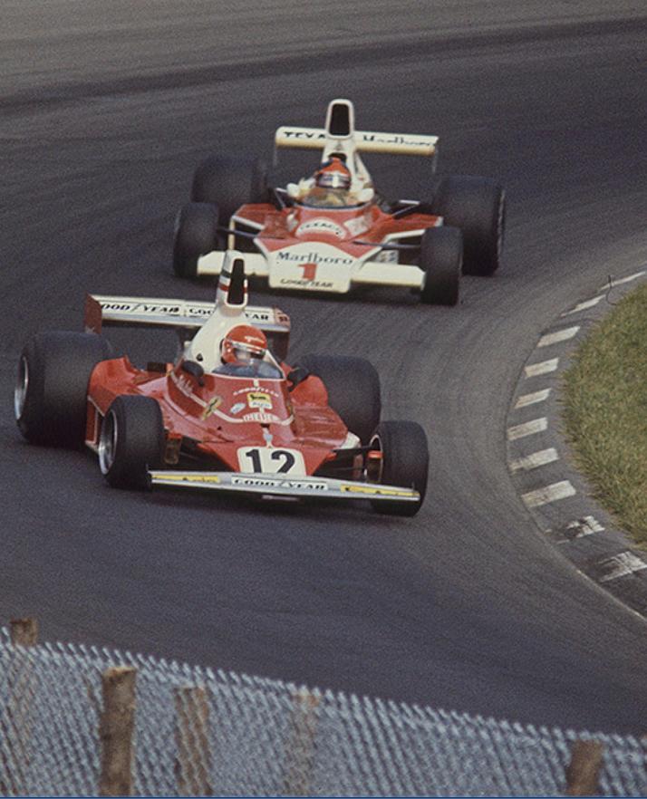 Lauda & Ferrari 312T forever…