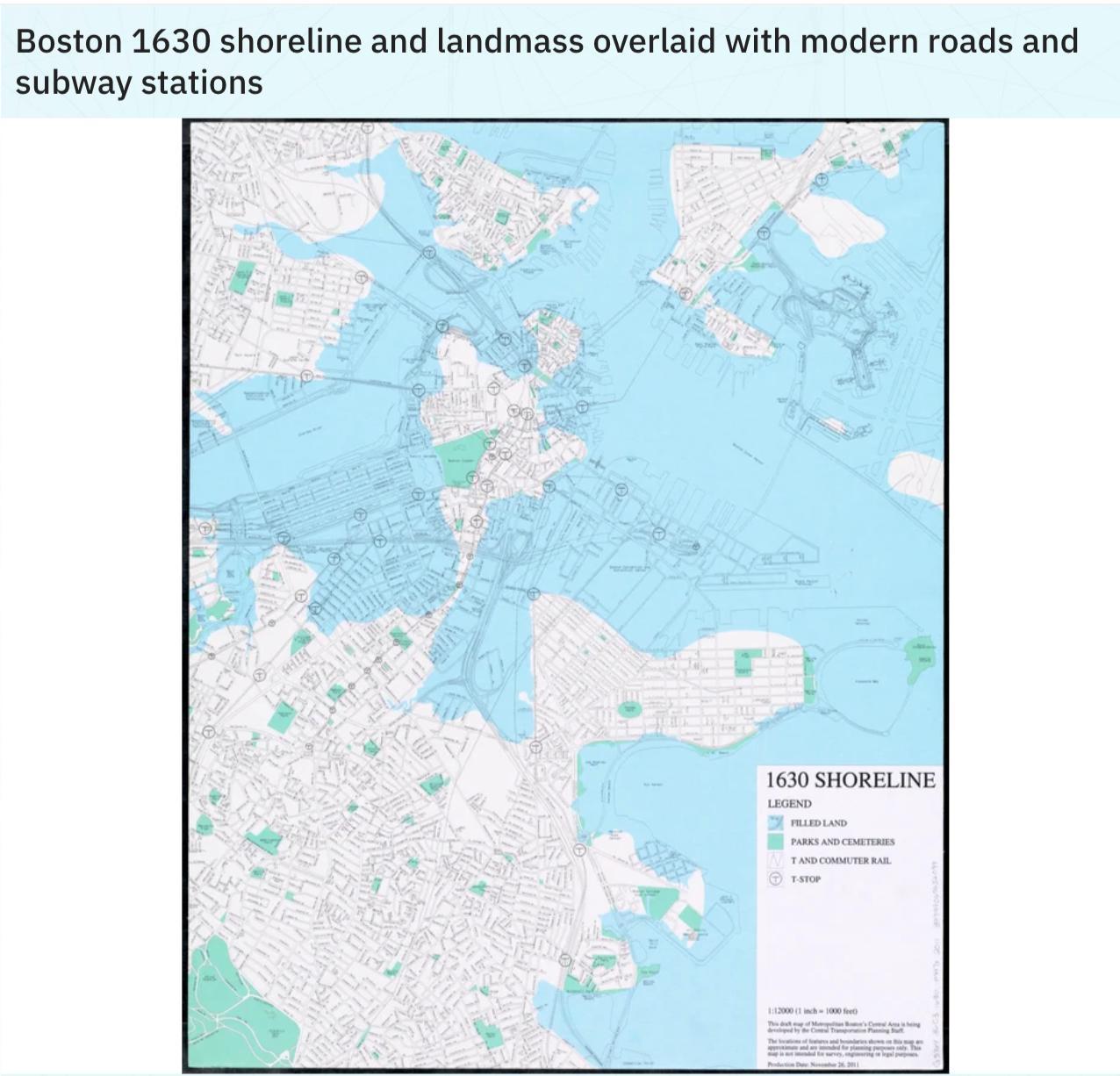 How landfill created modern Boston:…