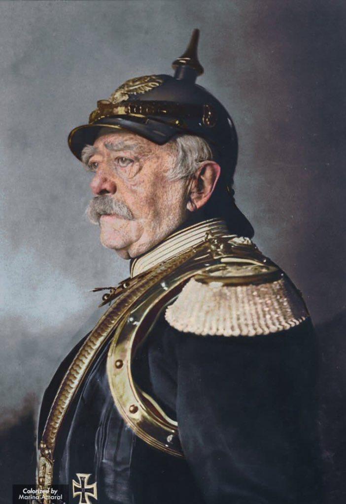 RT @marinamaral2: Otto von Bismarck…