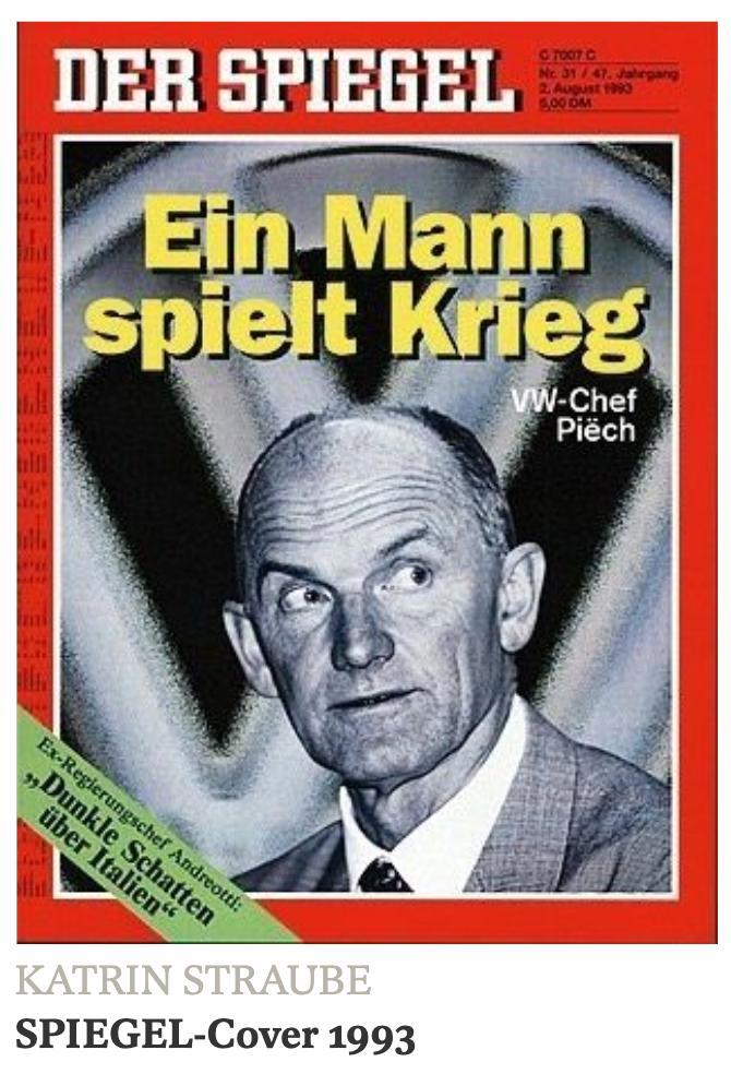 Ferdinand Piech had a collection…