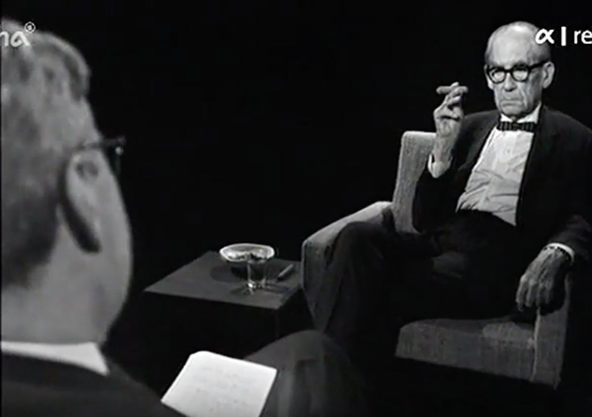 Walter Gropius interviewed in German…