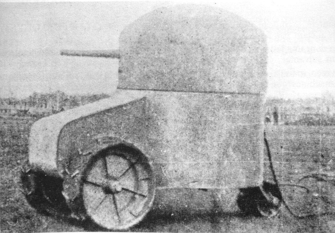 RT @historylvrsclub: Early French tank,…