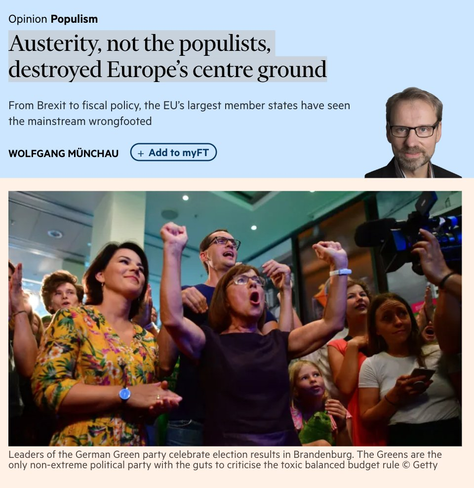 Austerity, not the populists, destroyed…