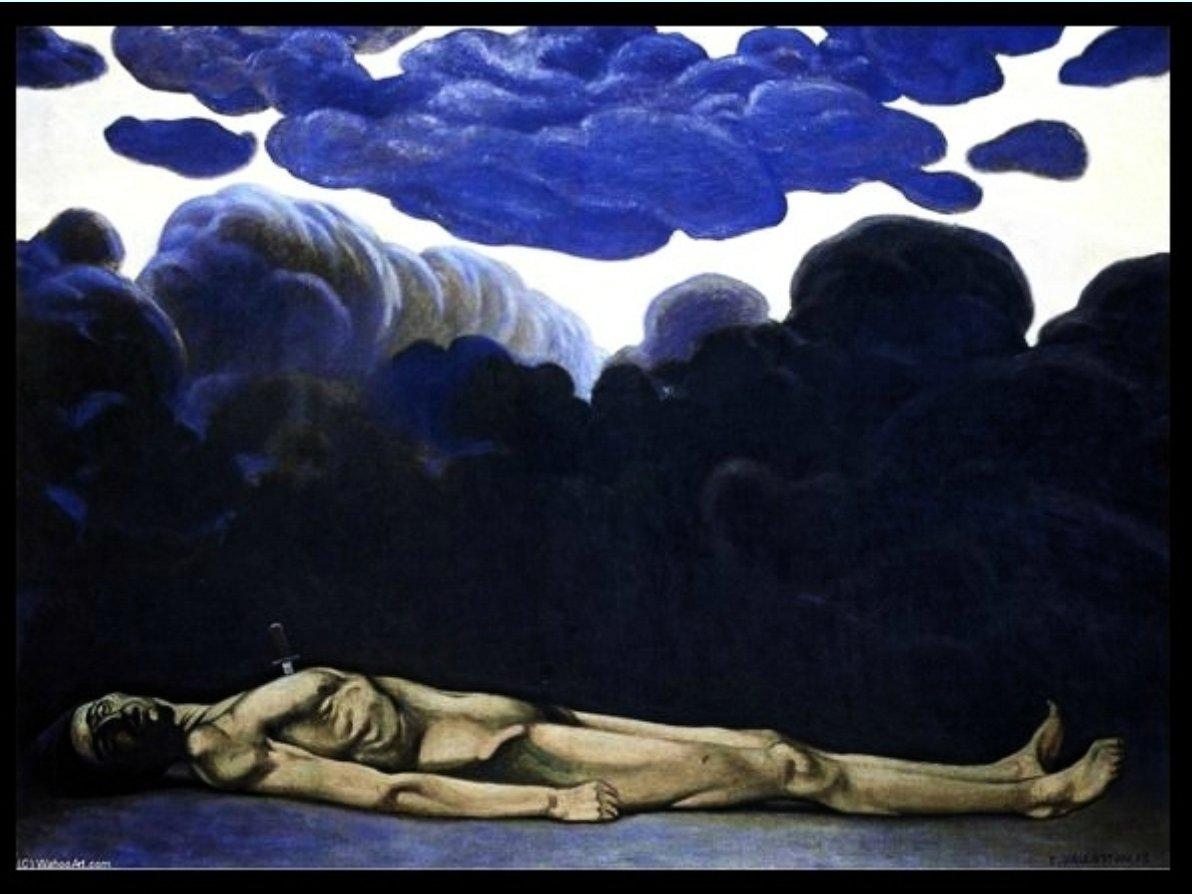 Félix Vallotton's war art is…