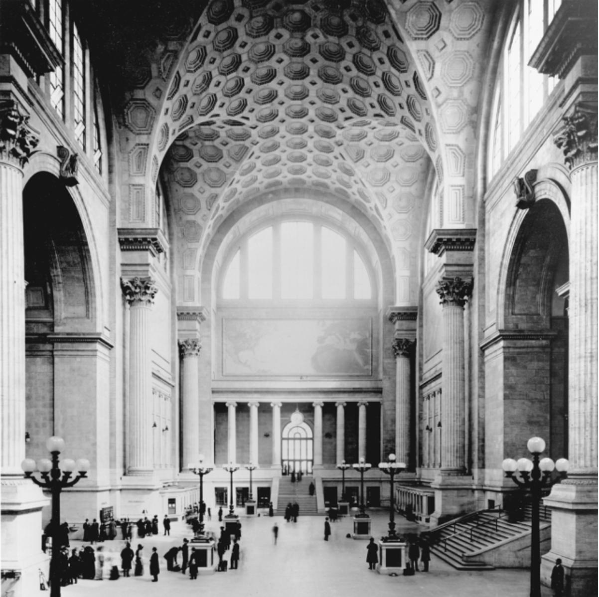 The original Penn Station, a…