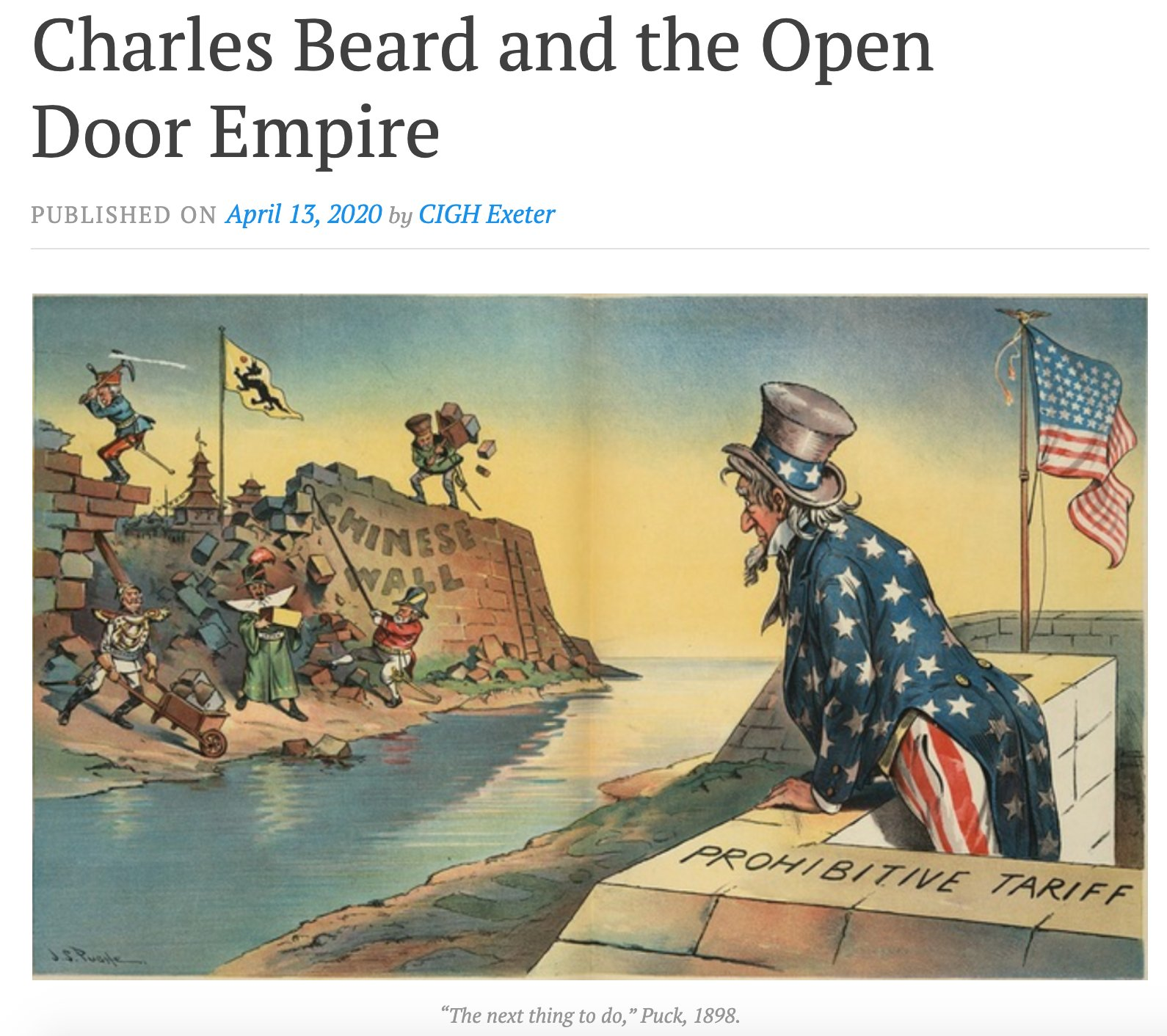 Charles Beard and the Open…