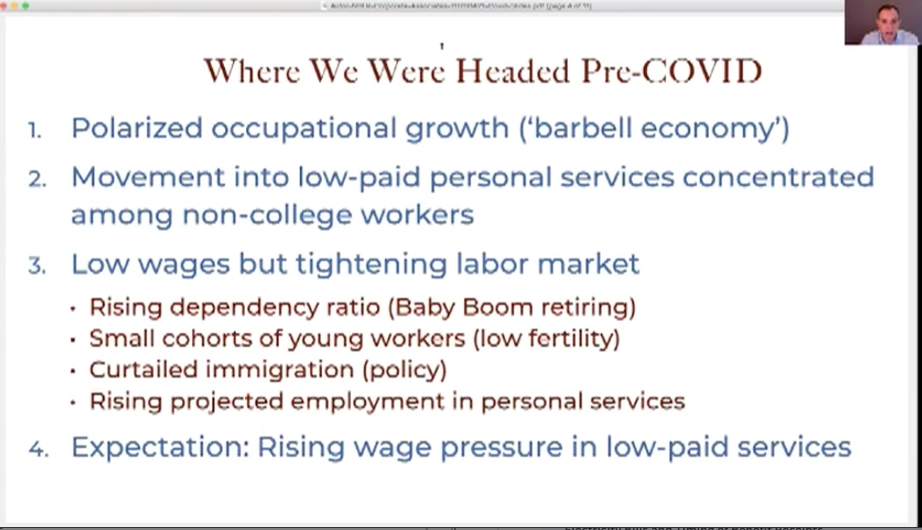 Great overview of labour market…