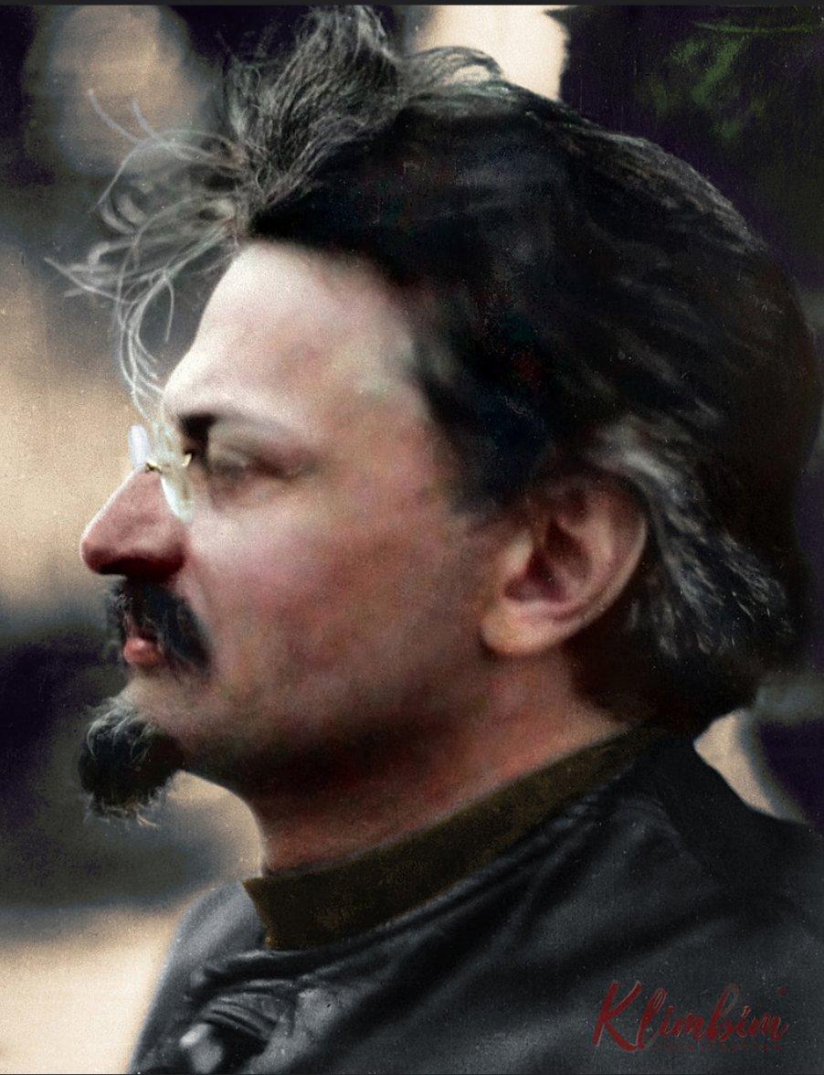 Leon Trotsky in 1924 at…