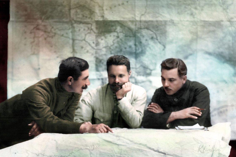 Budyonny-Frunze-Voroshilov-1921 Commanders of the Red Army https://t.co/Xx8FCFYIGS…