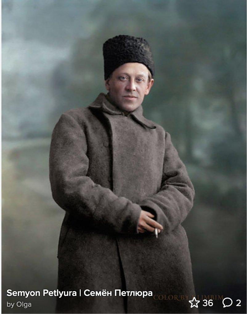 Semyon Petliura (1879-1926), Ukrainian nationalist…