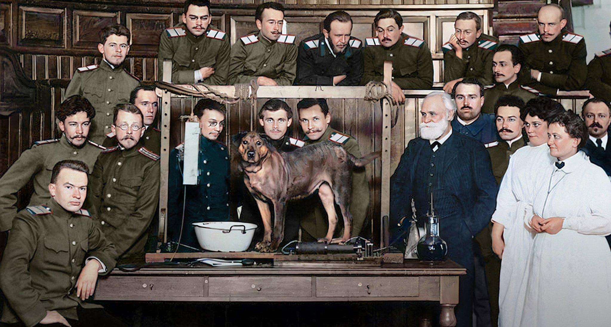 Ivan Pavlov and his dog…