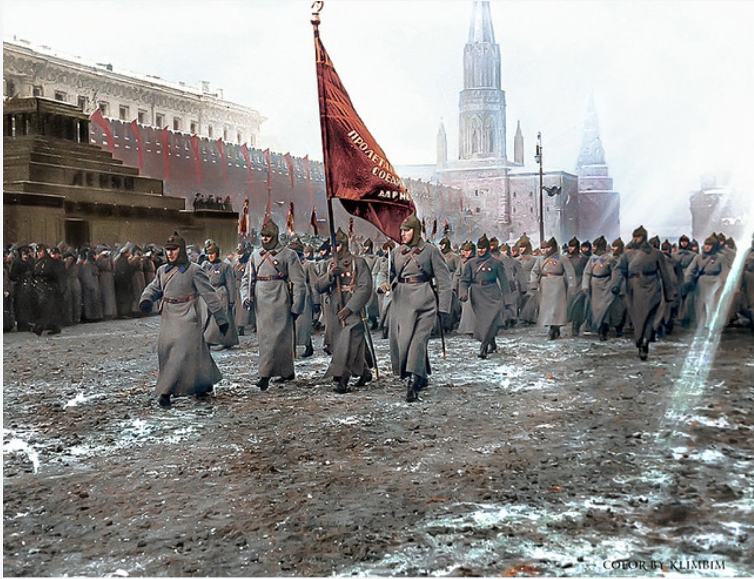 Red Square parade 1925. It…