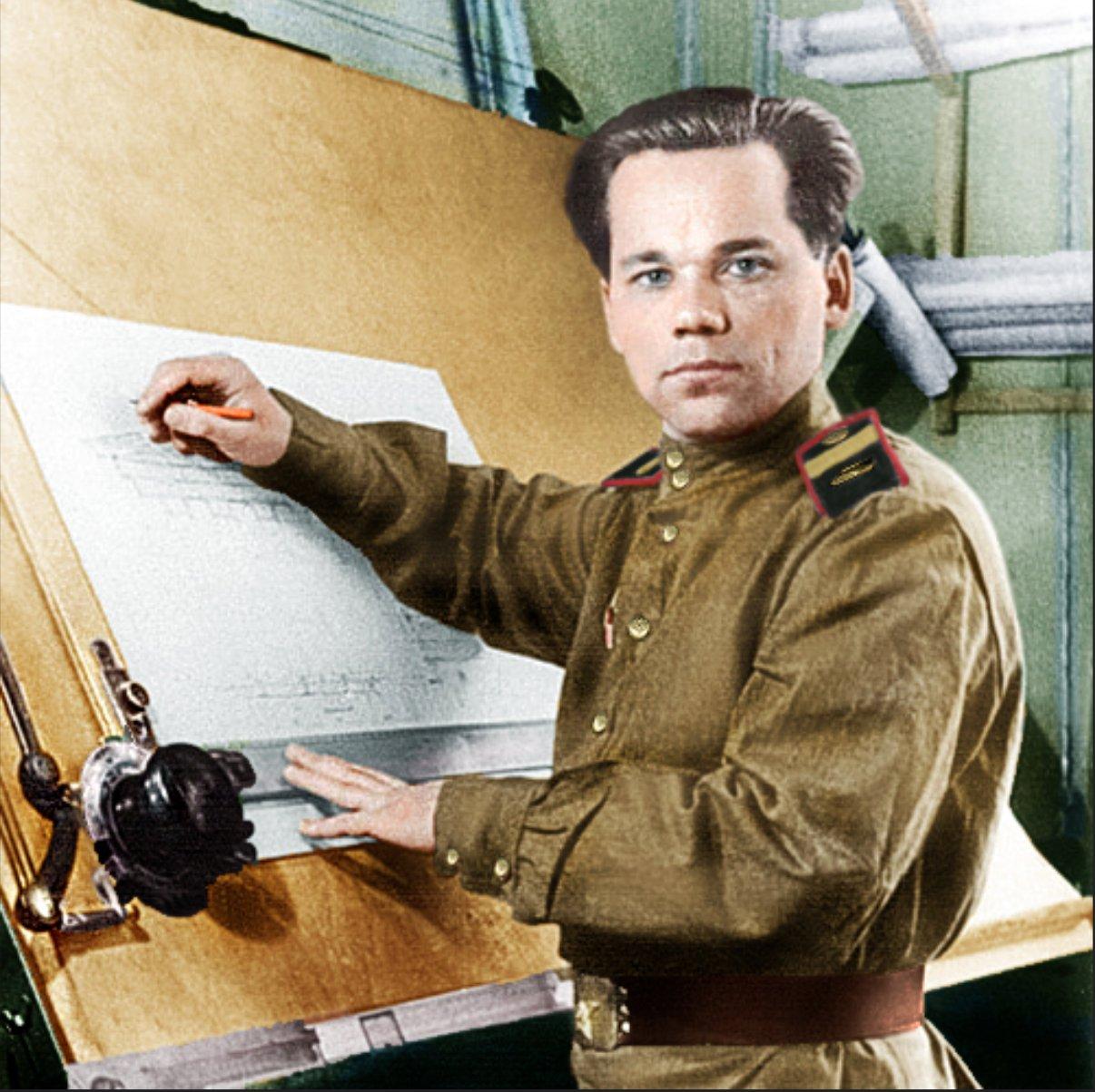 Mikhail Timofeyevich Kalashnikov 10 November…
