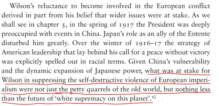 RT @ProfPaulPoast: Woodrow Wilson was…