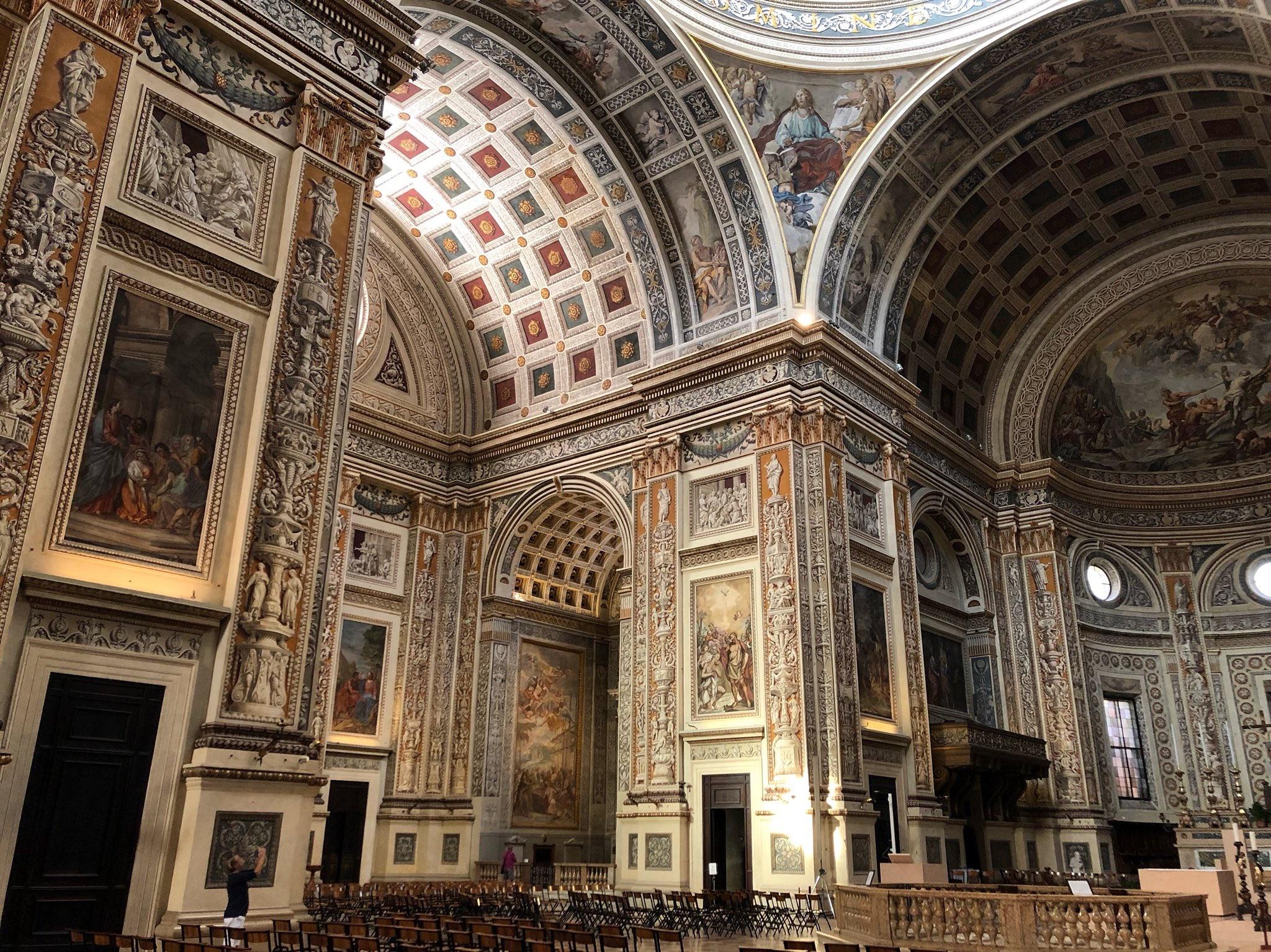 RT @Furmadamadam: No6 Alberti's Sant'Andrea…