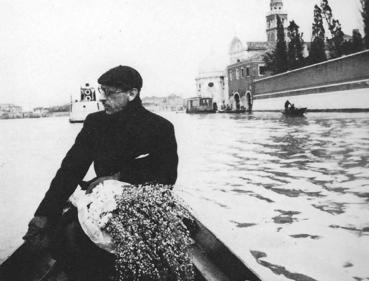RT @rabihalameddine: Igor Stravinsky taking…
