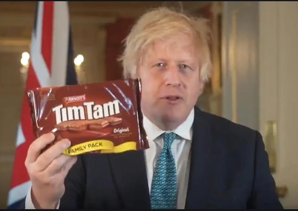 Goya Beans, Tim Tams ……