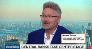 Adam Tooze talking on Bloomberg
