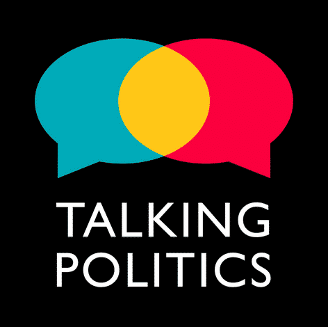 Talking Politics logo with two speech bubbles