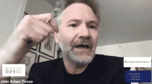 Adam Tooze speaking on video