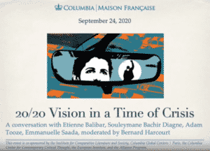 20/20 Vision in a Time of Crisis. Cover Image.