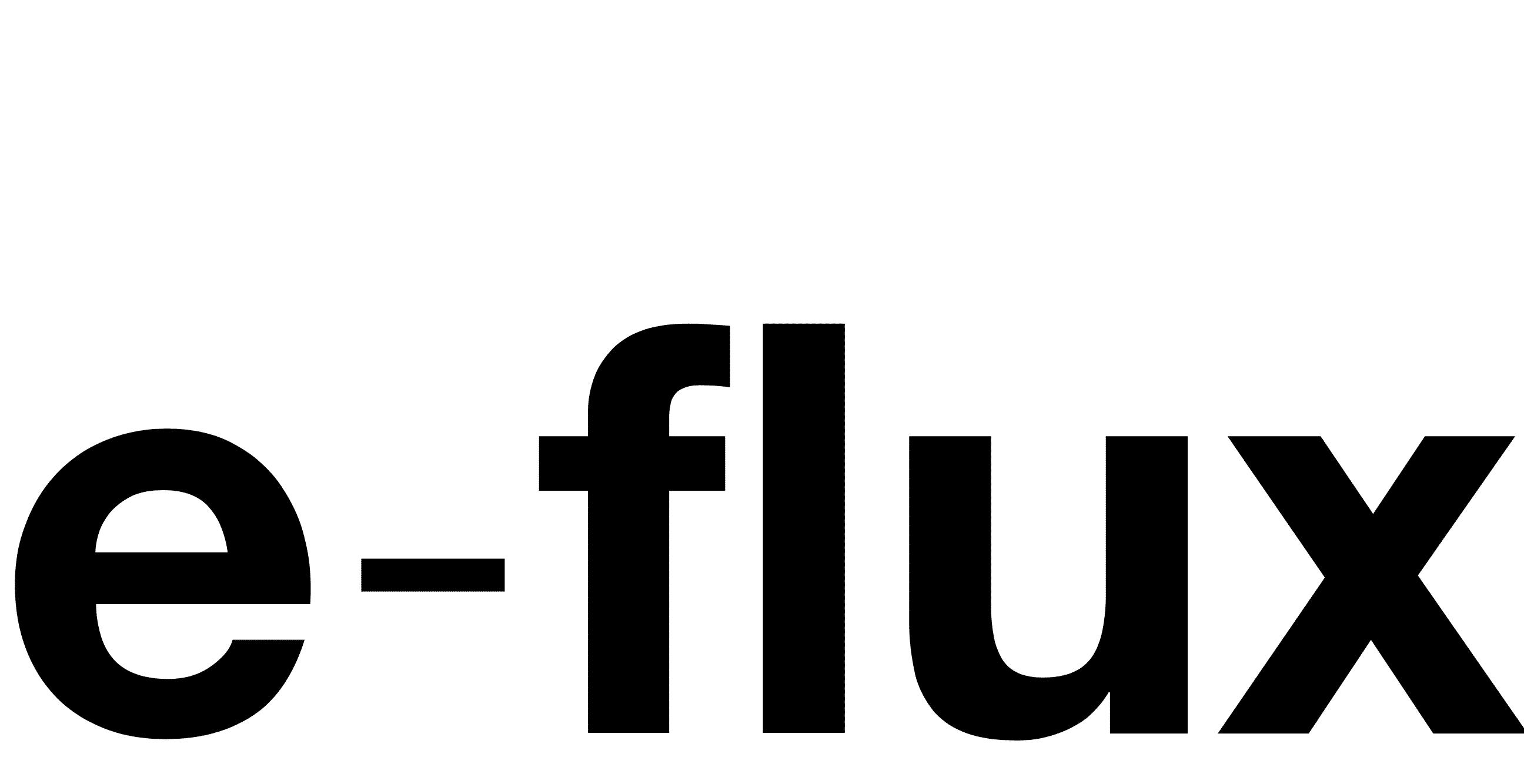 e-flux logo