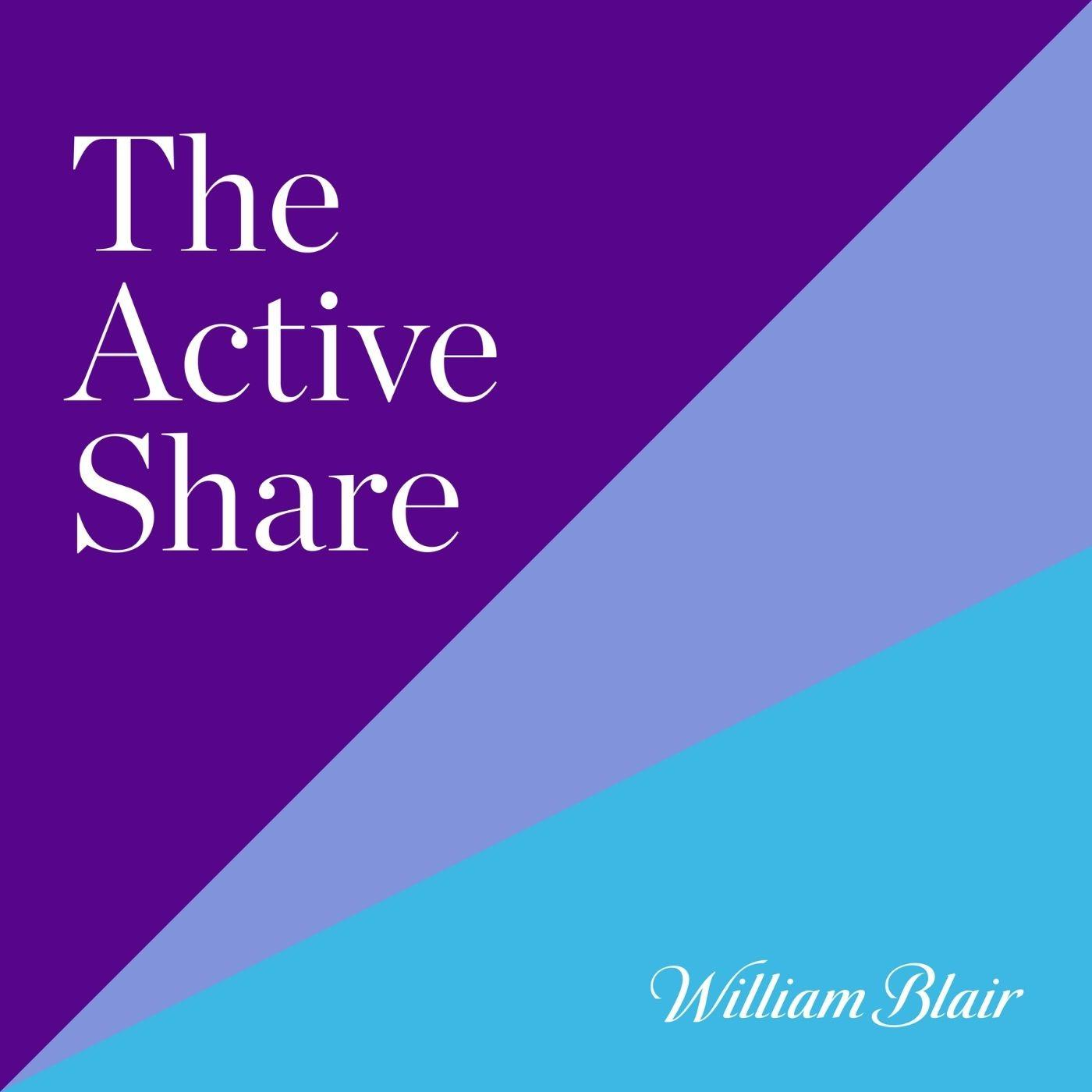 The Active Share, William Blair logo